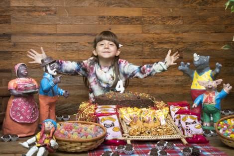 Helena 4 anos, aniversário infantil