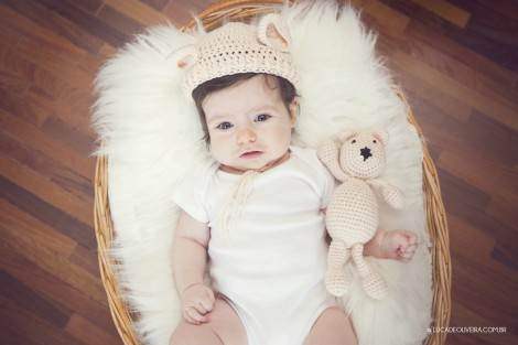 ensaio de bebê 3 meses